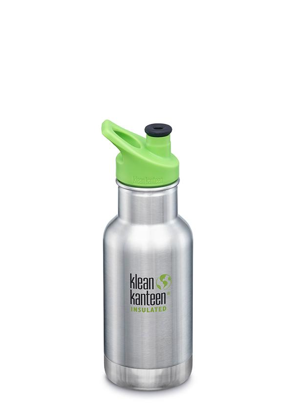 12oz Insulated Bottle w/ Sport Cap - Brushed
