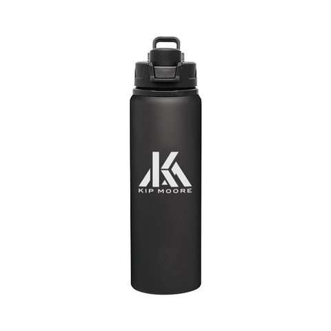 Kip Moore Logo Water Bottle