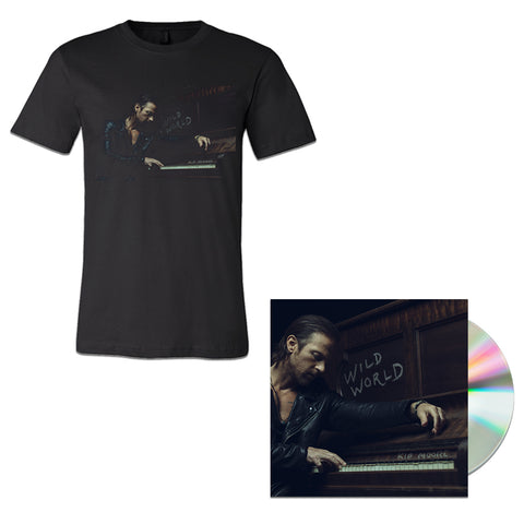 Wild World CD + T-shirt Package