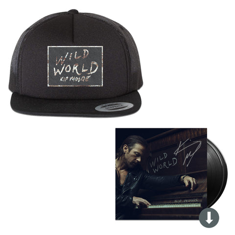 Wild World Signed 2LP + Hat Package
