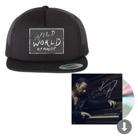 Wild World Signed CD + Hat Package