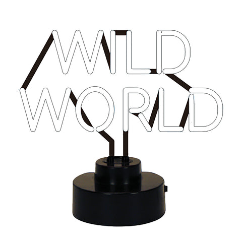 Wild World Neon Sign