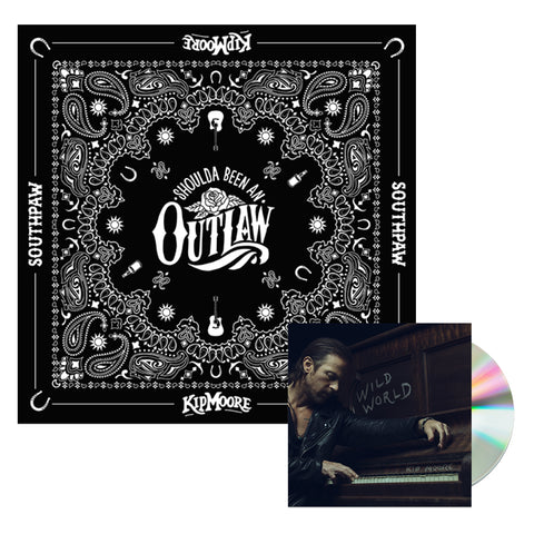 Wild World CD + Bandana Package