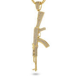 The Studded AK-47 Necklace