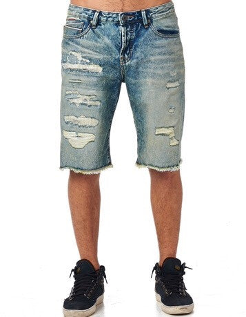 Cult Of Individualty Logan Shorts in Dusty