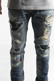 Embelish NYC Corniche Patchwork Distressed Denim