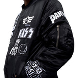 Iro-ochi No bands jacket Black