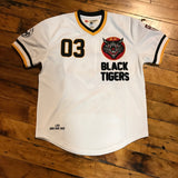 Iro Ochi Black Tiger Away Jersey  White