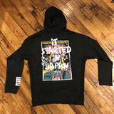 Iro-Ochi It Started Zip Hoodie Black