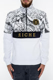 VieRiche Winged Gods Pull Over White