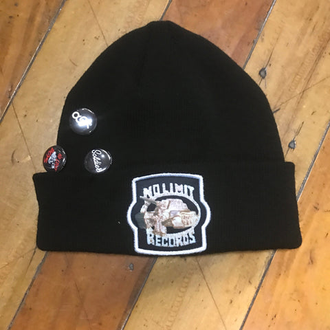 No limit Solider Custom hip hop beanie with pins