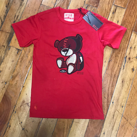 Red Tag Brand Teddy Tag cut & sew tee Red