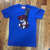 Red Tag Brand Teddy Tag cut & sew tee Royal