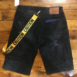 Iro-Ochi Okane Denim Short Black