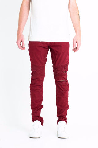 Embellish Adams Burgundy
