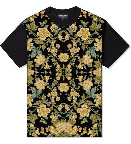 Underated London Gold Floral Tee