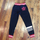 Inshallah Black and Red Joggers