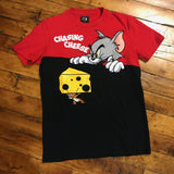 FTW Chasing Cheese Tee Red