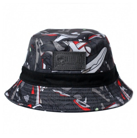 HIS AIRNESS Black/Red Bucket Hat