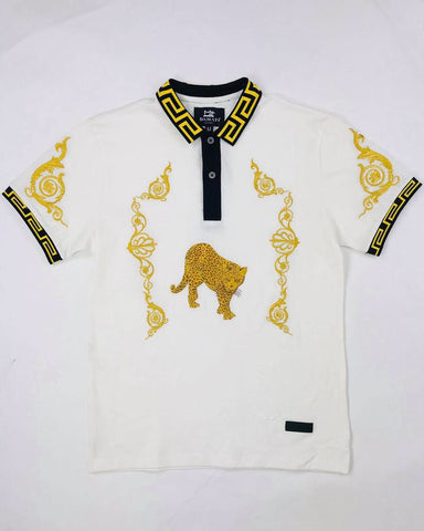 Damati Cheetah Polo Shirt