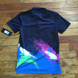 Black Pyramid Spraypaint Polo