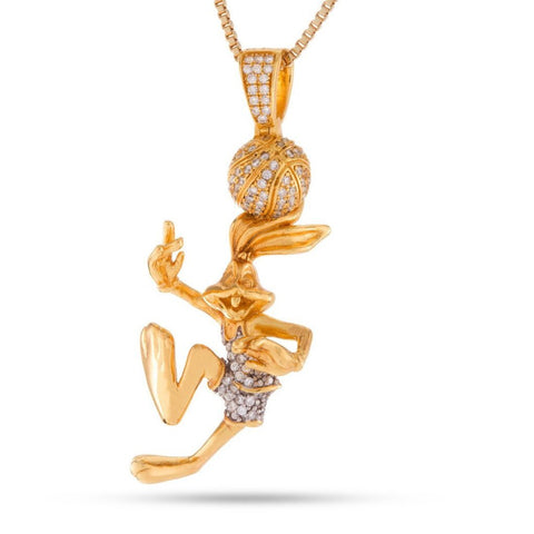 King Ice Bugs Bunny Necklace