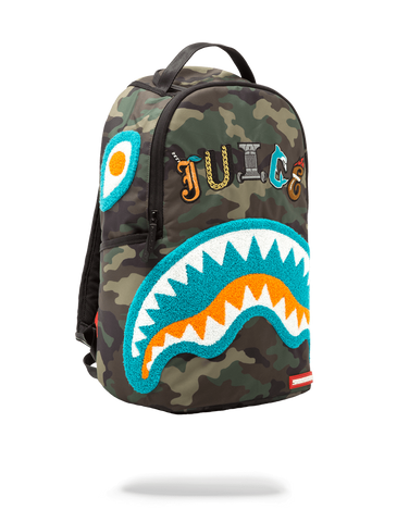 SprayGround Jarvis LandryCamo Shark book bag