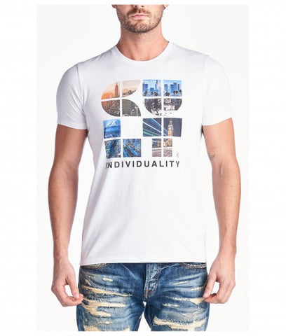 Cult Of Individuality city crew logo tee