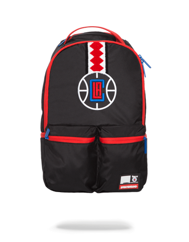 SprayGround NBA Clipper Double Cargo bookbag