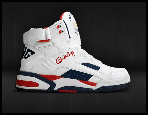 "Ewing Eclipse White/Navy/Red ""Olympic"""