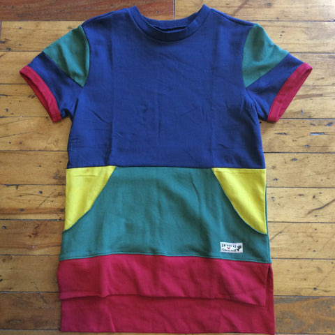 Entree Olympic color-block lightweight S/S Crewneck