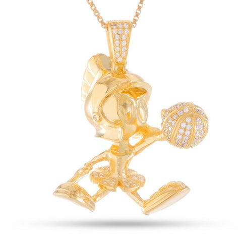 King Ice Marvin the Martian necklace