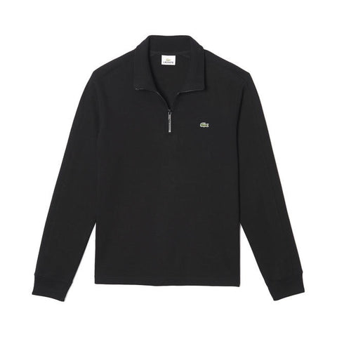 Lacoste Black Half Zip Sweater