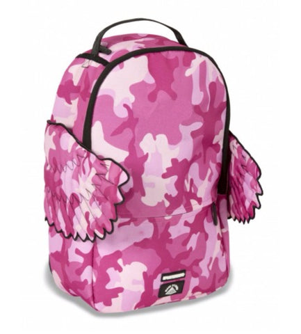 SPRAYGROUND THE BLACK PYRAMID CB PINK CAMO WINGS BACKPACK