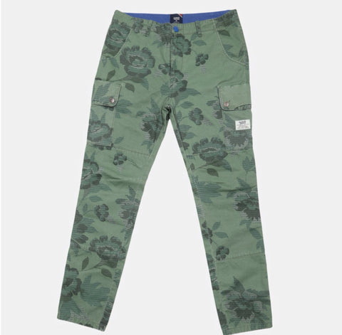 FORT GREEN TWILL PANTS
