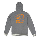 Play Cloths Sago Zip Hoody Heather grey