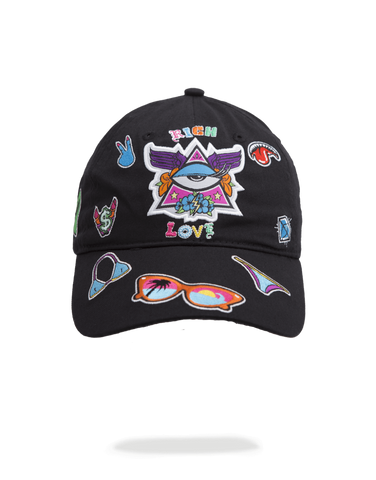 SprayGround Girl Pathces dad hat