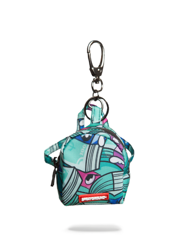 SprayGround Money Mojo keychain