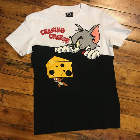 FTW Chasing Cheese Tee Black