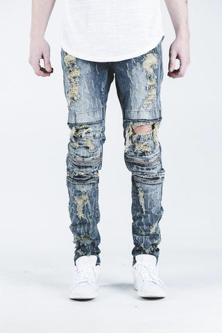CRYSP Denim Ali Distressed