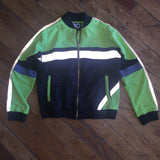 Skittles Track Jacket Lime Green