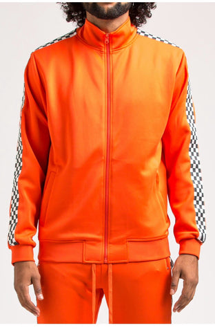 Eternity Checker Track Jacket