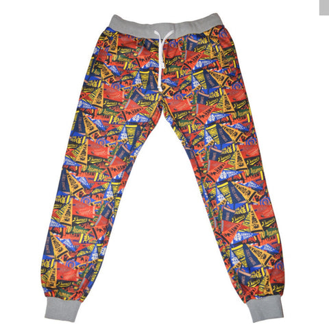 Hawke And Dumar HD Banner Print Pant