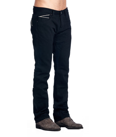 Cult Of Individuality Rebel Straight Black Jeans