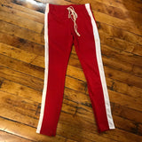 EPTM track pants Red/White