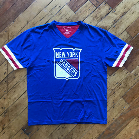 Wright & Ditson New York Rangers V-neck