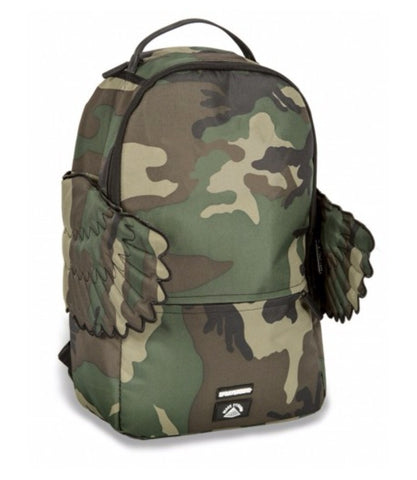 SPRAYGROUND THE BLACK PYRAMID CB WOODLAND WINGS BACKPACK