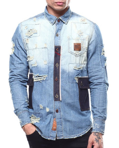 Heritage By America Denim Shirt