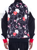 Rose Noir Bomber Jacket Black