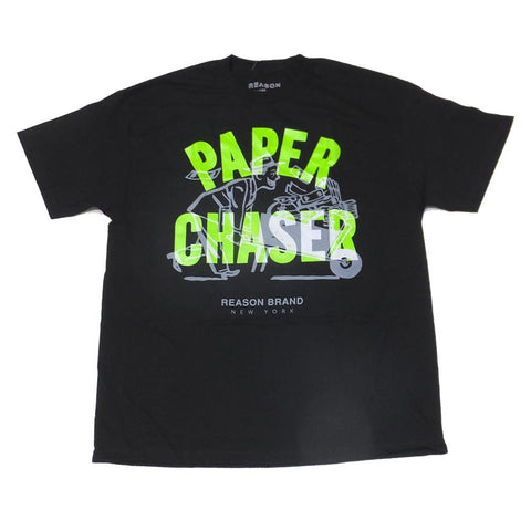 Reason Clothing Paper Chaser T-Shirt(Black)
